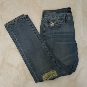 Lucky Brand Distressed Sienna Slim Boyfriend 4/27